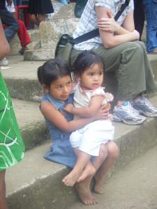 Children at a School in Guatemala