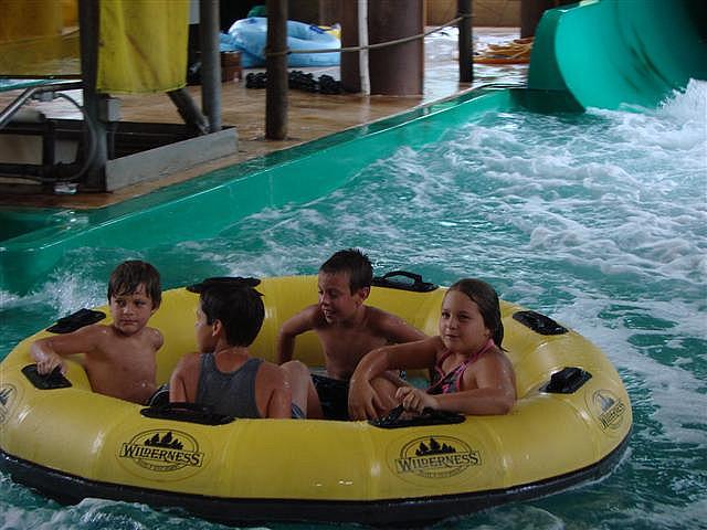 Indoor Water Park Wilderness Lodge