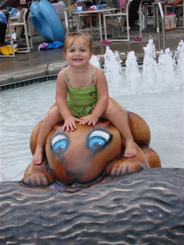 Toddler Fun at Wilderness Lodge