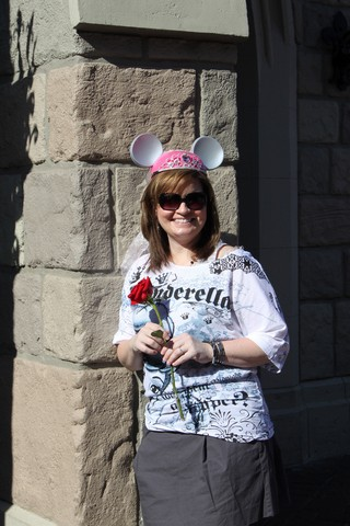 Andrea at Cinderellas Castle