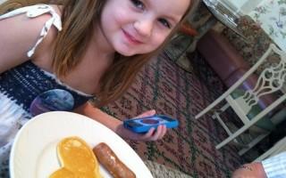 Disney Does Breakfast Cheerfully