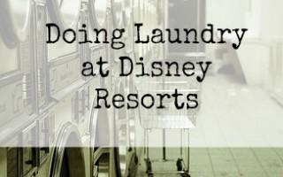 Magical Laundry at Disney World Resorts