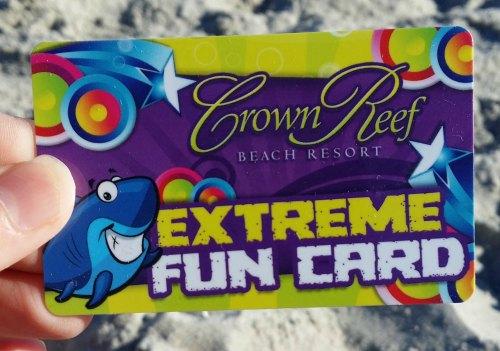 Extreme Fun Card