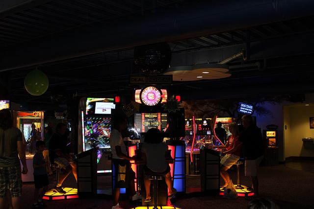 Arcade at Kalahari