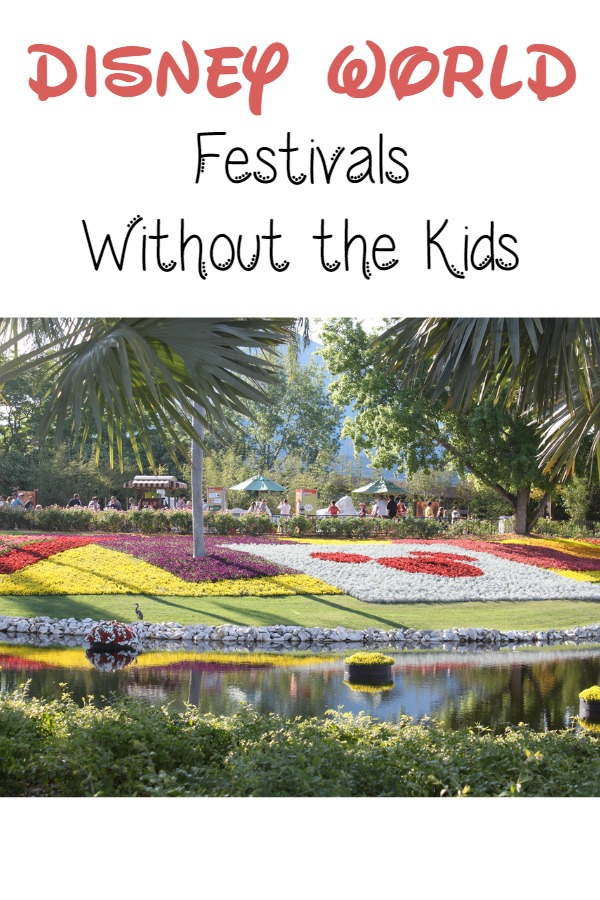 Disney World Festivals Without the Kids
